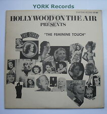 HOLLYWOOD ON THE AIR - Presents The Feminine Touch - Various - Ex Con LP Record