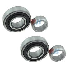 Pair Set of 2 Rear Inner WJB Wheel Bearings for Chevrolet GMC Suzuki No ABS