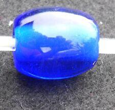 large cobalt blue Fenton Art Glass Jewelry Glass Bead Charm New B2