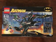 LEGO 7782 Batman The Batwing  The Joker's Aerial Minifig Assault  New Sealed.