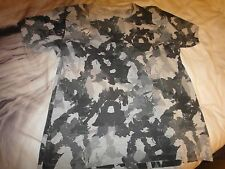 Fcuk Mens Camoflague Transformers T Shirt Size L Rare