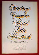 Secretary's Complete Model Letter Handbook