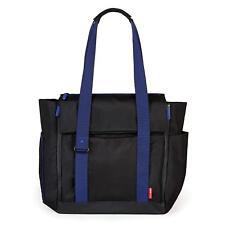 Skip Hop Fit All-Access Change Bag / Baby Bag NEW Black & Blue with Pram Straps