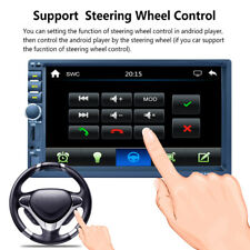 "7"" 2DIN HD Bluetooth Car Dash GPS Navigation Audio Radio AM/FM UBS TF Touch MP5"