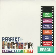 Epson Perfect Picture Stylus Color 600 by Epson ~ Win & Mac ~ 1997