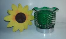 Fragrance & Aromatherapy Electric touch lamp Oil & Tart Warmer Burner Green