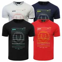Duck & Cover Gamma Mens T Shirt Crew Neck Short Sleeve Graphic Tee
