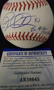 Atlanta Braves Autographed Charlie Morton Baseball W/ 2 Inscriptions PSA...