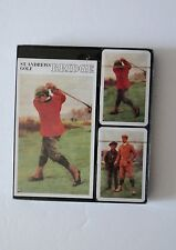 St Andrews Golf - Double Deck Playing Cards With Bridge record keeping FREE SHIP