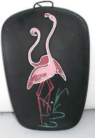 Flamingos auf Schiefertafel made in west Germany  Nr. 5007