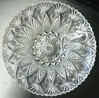 Kristallschüssel / Schale ca. 33 cm Durchmesser