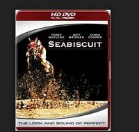 BRAND NEW FACTORY SEALED HD-DVD: Seabiscuit (HD-DVD, 2006, PG13) Free Shipping