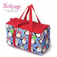 Thirty one 31 penguin pattern bag luggage bags Storage bags travel bag Handbag