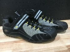 SPECIALIZED MEN'S BIKE BICYCLE SHOE - BLACK - TAHO US 12 - GOOD CONDITION