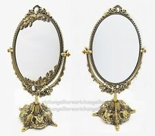 Korea Rose Star Stand Table Double Mirror Makeup Classy Gorgeous Antique Vintage