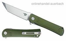 BESTECH KNIVES Kendo Green BG06B-1 Taschenmesser Klappmesser Messer
