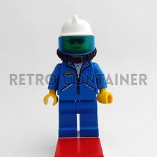 1x ovr020 Classic Town Omino Minifig Construction Worker LEGO Minifigures