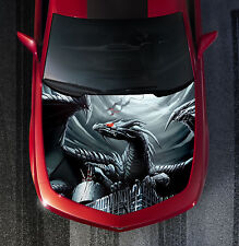 H29 DRAGON Hood Wrap Wraps Decal Sticker Tint Vinyl Image Graphic