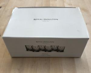 Royal Doulton Earlswood 6x Crystal Tumbler