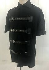 SDL Shirt Black With Buckles Size s