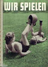 Wiemann nous jouons Manuel du mouvement des jeux 1957