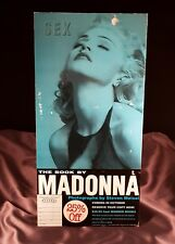 MADONNA SEX BOOK PROMO COUNTER STAND DISPLAY 1992 RARE