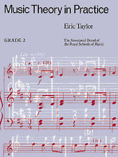 Music Theory In Practice ABRSM Grade 2 Book Exam Work by Eric Taylor S134