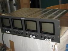 Sony PVM-411 Quad 4 Rack Mount Monitor FTI