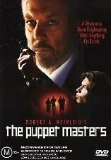 The Puppet Masters (DVD, 2003) good Plays perfect Region 4 DVD movie
