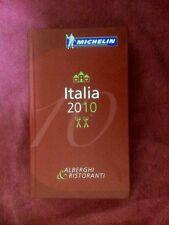 GUIDE ROUGE MICHELIN ITALIA 2010 TBE