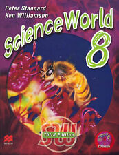 Science World 8 by Peter Stannard, Ken Williamson (Mixed media product, 2006)