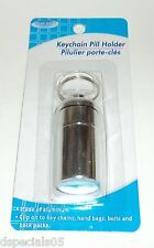 Assured Keychain Pill Holder Made Of Aluminum New In Package