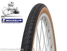 lot de 2 Pneu Michelin 650 1/2 Ballon 42B ZZ Beige/noir 650B 44-584 + 2 chambres