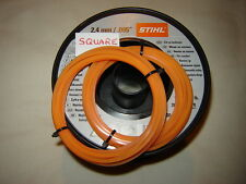 1X5MTR 2.4mm GENUINE STIHL SQUARE STRIMMER LINE IDEAL SPARE FOR YOUR STRIMMER
