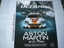 Octane Magazine. Issue 61 July 2008 Aston martin At Le Mans - Ferrari 166