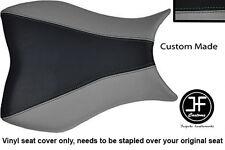 Negro y Gris Vinilo personalizado para Honda CBR 1000 RR 08-11 Fireblade Cubierta de asiento solamente