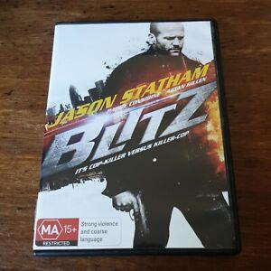 Blitz Jason Statham DVD R4 Like New! FREE POST