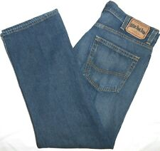 38x30 Tommy Hilfiger Relaxed 'Freedom Fit' Blue Jeans 100% Cotton Men's Denim