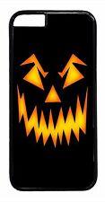 Halloween Pumpkin Horror Case iPhone6 6+ 5S 5C 5 4S 4 TPU Rubber or Hard Cover
