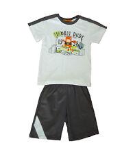 Conjuntos niño de Kemaku, pantalones cortos y camisetas , gris ,talla 2
