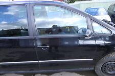 VW Sharan 7M Ford Galaxy Tür rechts vorne Beifahrertür schwarz LC9X ab2000 Facel