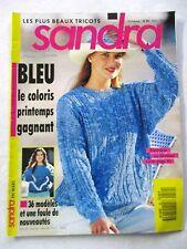 Magazine tricot Sandra 36 modèles et un foule de nouveautés  N°80  /V24