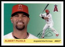 2020 Archives Base #15 Albert Pujols - Angels