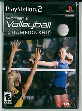 Women's Volleyball Championship Sony PlayStation 2 New and Factory Sealed PS2