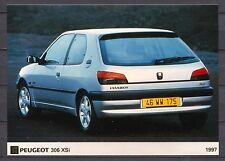 PRESS - FOTO/PHOTO/PICTURE - Peugeot 306 XSi 1997
