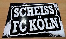 Fortuna Düsseldorf Aufkleber Scheiss FC Köln Neu
