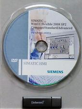 Siemens SIMATIC software WinCC flessibile 2008 sp2 Advanced + RT 128 PT