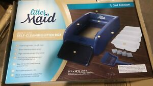 NEW LitterMaid Version 3 Automatic MULTI CAT Litter Box Self-Cleaning Scoop w/ …