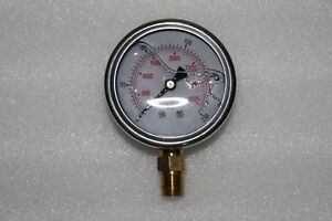 PRESSURE GAUGE 0-250 BAR (0-3600 PSI)