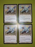 Glittering Lynx x4 Prophecy 4x Playset MTG Magic the Gathering